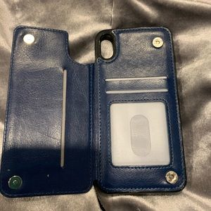 *used* iPhone XS Max wallet case